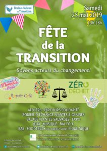 affiche de la Fête de la Transition